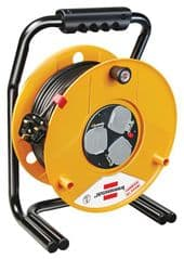 BRENNENSTUHL 1311303  Cable Reel Hd Brobusta 13A 3 Way 50M
